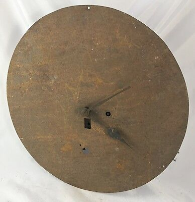 Lovely Antique Fusee Wall Clock Rare Chain Driven Dial And Movement
