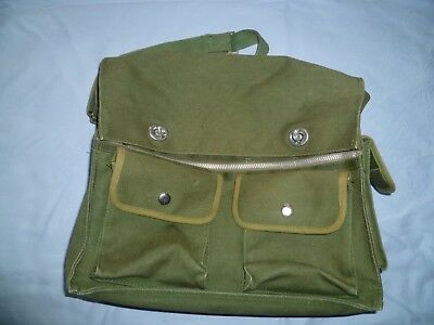 Vintage Canvas Fishing / Shooting Bag