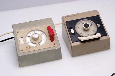 Two Hauck Timers-One working and one for spares or repair