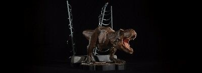 Jurassic Park Chronicle Collectibles Breakout T-Rex 1/20 Scale Statue Brand New