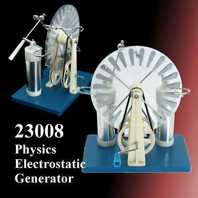 Wimshurst Static Machine Physics Electrostatic Generator Electricity Tesla 23008