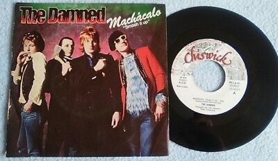 "THE DAMNED Smash it up ( Machacalo) 7"" SINGLE Spain"