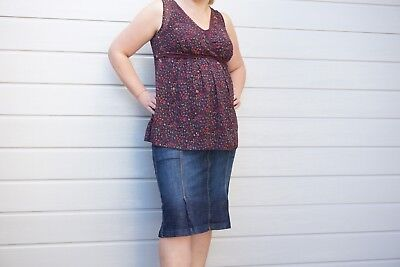 Mixed Maternity Clothes, Size 14, Incl Mavi Jeans & Cute Baby Cocoon