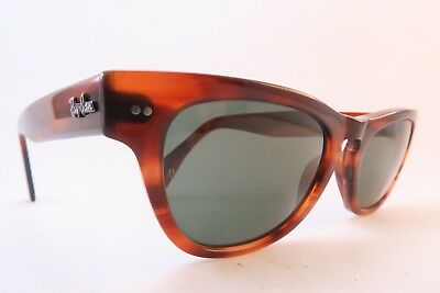 Vintage B&L Ray Ban Laramie sunglasses acetate etched lens made in the USA