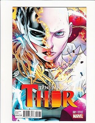 The Mighty Thor #1 2016 Dauterman Color Variant Jane Foster 1:20 Legacy Death!