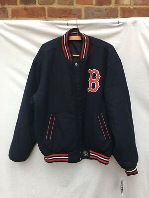Reversible Boston Red Sox Varsity Jacket XL *WITH TAGS OFFICIAL MLB