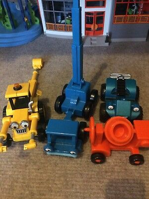4 Bob The Builder Vehicles