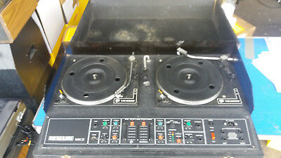 NJD VS 5000 Twin DJ Decks w/ Mosquitto MKII Mixer (B506)