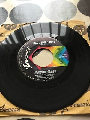 Marvin smith have more time   (Brunswick records)