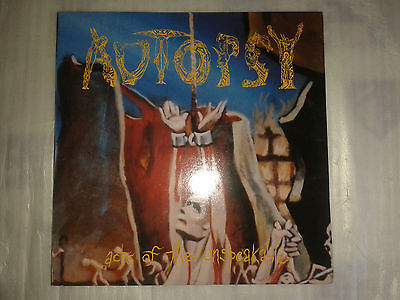 AUTOPSY (USA) - Acts of the Unspeakable FIRST PRESS VLLE33 Gatefold LP
