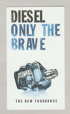 Carte  à parfumer - perfume card  - Only The Brave Diesel