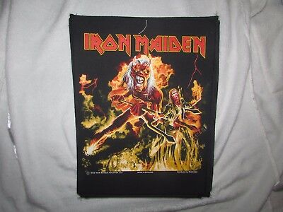 Heavy metal  back patch  IRON MAIDEN