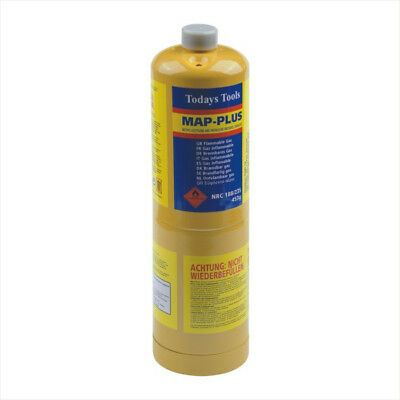 MAPP Map Plus 435g Bottle Disposable Gas Cylinder Plumbers Torch Jet Burner New