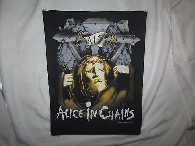 Heavy metal  ALICE IN CHAINS  back patch
