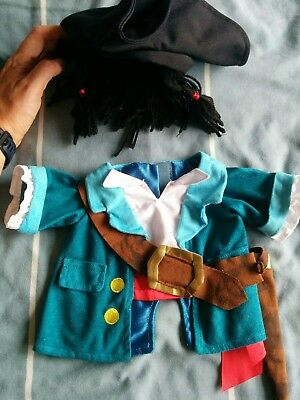 build a bear type clothes pirate jacket and hat