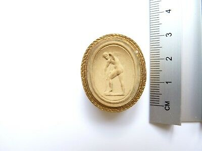 Anitque Grand Tour Plaster Cameo 014 c19th