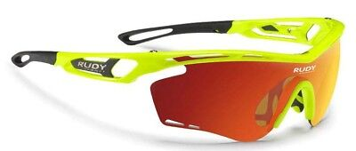 Rudy Project Tralyx One Size Yellow Fluo Gloss   Multilaser Orange