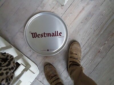 trappist Westmalle tray reclame metal new