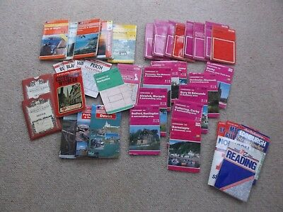 Job Lot / collection of 40 Mixed MAPS, Mostly Ordnance Survey.