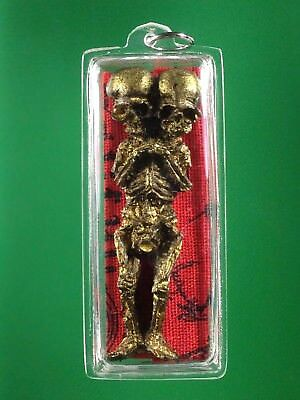 Magic Voodoo 3 Huanted Doll Spirit Skeleton Skull Witchcraft Shaman Thai Amulet