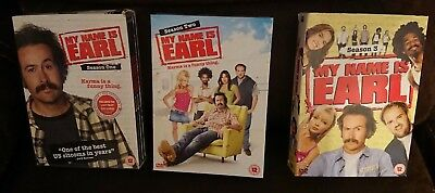 My Name Is Earl, Series / Season 1, 2 and 3 DVD Box Sets