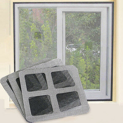3pc Window Screen Mesh Anti-Insect Net Fly Mosquito Bug Protection+Adhesive Tape