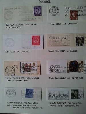 Stamps - Christmas  Slogans ( 8 )