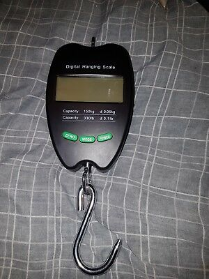 Digital scales  150 kg carp fishin                          330lb