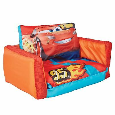 DISNEY CARS 3 FLIP OUT INFLATABLE SOFA & LOUNGER 2 IN 1 KIDS - packaging damaged