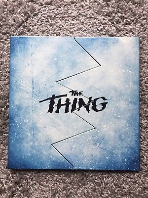 The Thing LP Deluxe Trapped In The Ice Edition Waxwork ennio morricone RARE!!