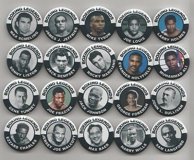 MIKE TYSON  BOXING LEGEND BADGE or MAGNET  38mm  IN SIZE