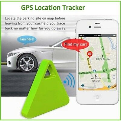Triangle Wireless Bluetooth 4.0 Smart Key Finder Anti Lost Tracker Alarm GPS