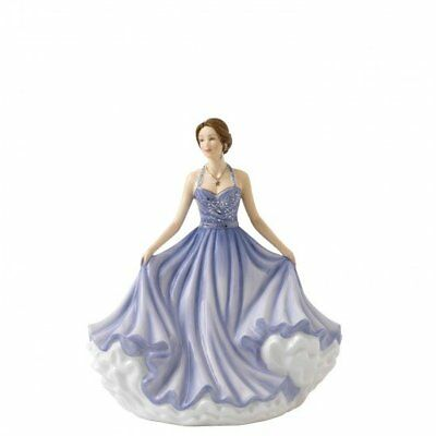 Royal Doulton Pretty Lady Figure - Beautiful Wishes - Sentiments Collection New