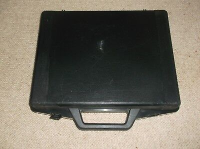 Sega Megadrive Original Hard Black Plastic Carry Case