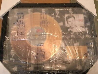 Frank Sinatra 'His Way' 24ct Gold Coated Disc Exclusive Ltd Edition 67/1500