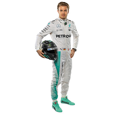 F1 Nico Rosberg AMG Mercedes Large wall sticker poster