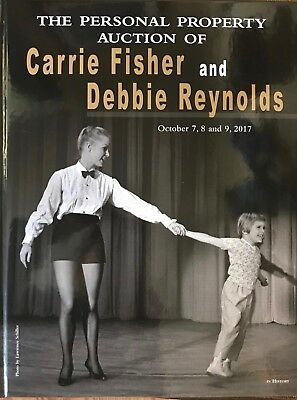 PROFILES IN HISTORY Carrie Fisher/Debbie Reynolds Hardback collectible book