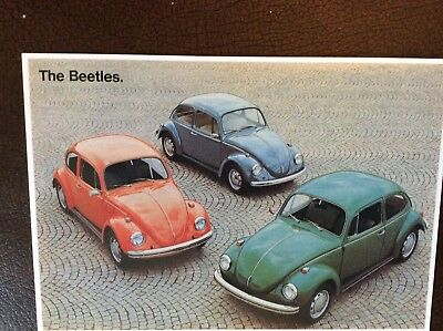 The Beetles postcard great condition