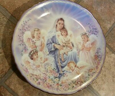 DONA GELSINGER Love Angels Heavenly Mother Mary's Gifts from Heaven plate 516A