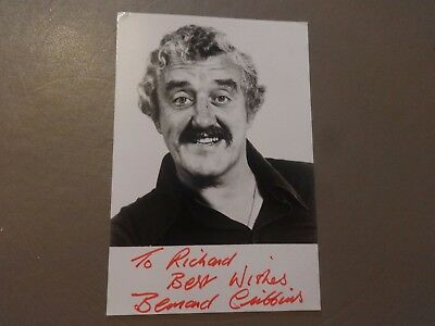 Bernard Cribbins Doctor Who Signed Photo Autograph Daleks-Invasion Earth 2150 AD