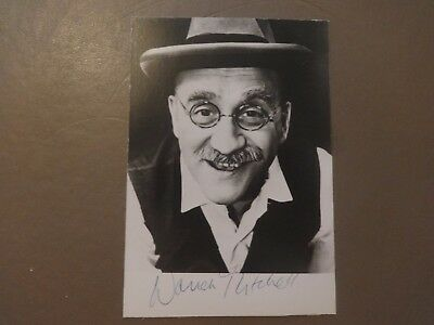 Warren Mitchell Autograph Signed Photo