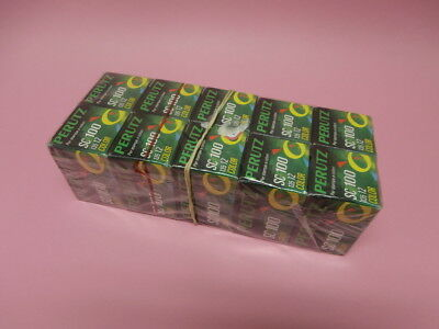 Perutz 35 mm Film SC 100 135 12 Color Negative Roll Lot of 10 New ISO Germany