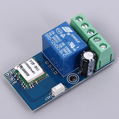 DC 12V Low Power Wifi Relay Switch Module Self-Lock Mode For Smart Home
