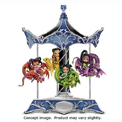 Enchanted Dreams Carousel & Spirit of Strength Figurine Jasmine Becket Griffith