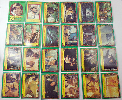 Star Wars Empire Strikes Back Series 1 1980 TOPPS Lot of 60 Trading Cards