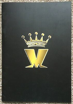 Welcome to the Wonderful World of Madness Tour Official Concert Programme 2003