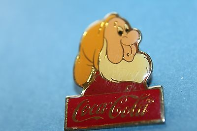 DISNEY COCA COLA 15TH ANNIVERSARY dwaf sneezy from snow white LE 1000 PIN BADGE