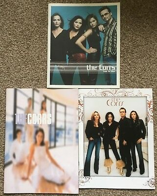 THE CORRS Lot of 3 Official Tour Programmes In Blue Borrowed Heaven Talk Corners