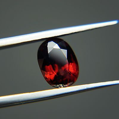 Nice & Rare!!! Vs2-2.22 Ct Natural Untreated  Malaya Garnet(Ng-10)