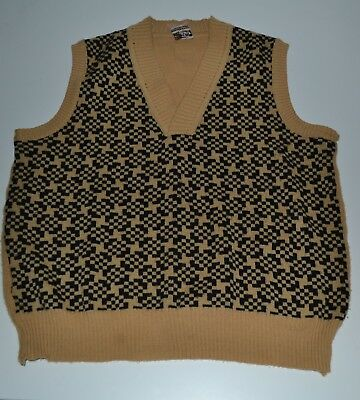 Vintage WW2 40s Style Re-enactment Gents Tank Top 38-40 chest